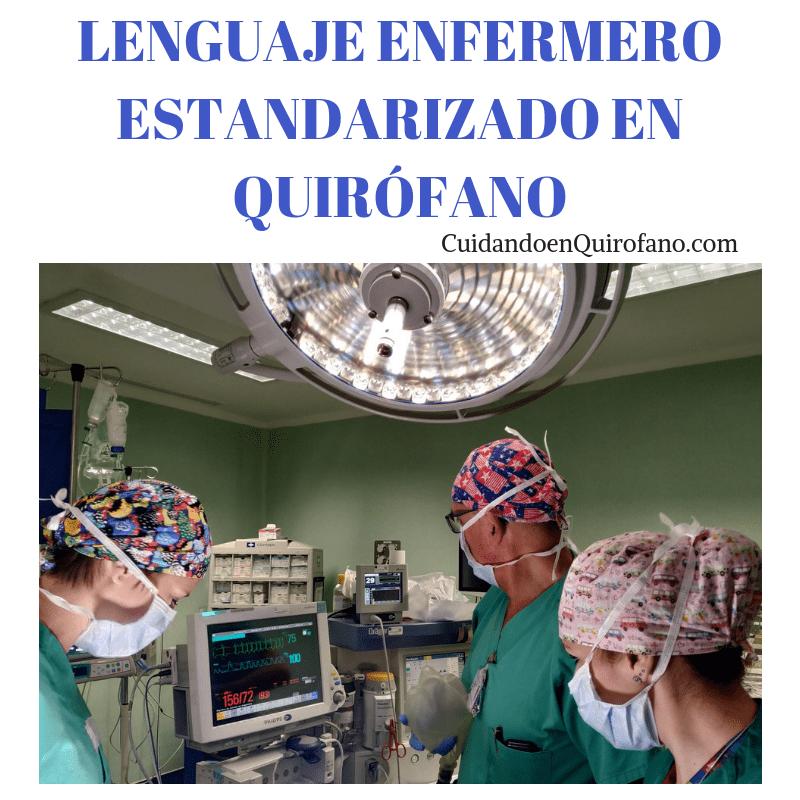 cuidados en quirofano