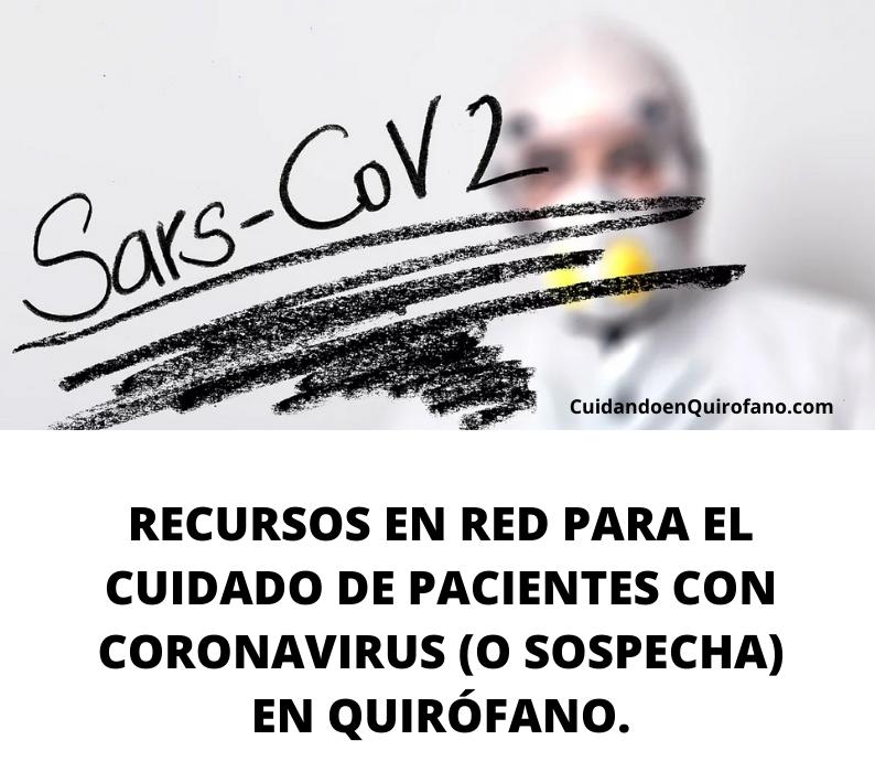 Coronavirus Quirofano